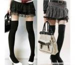 Женские чулки: какие выбрать и с чем носить