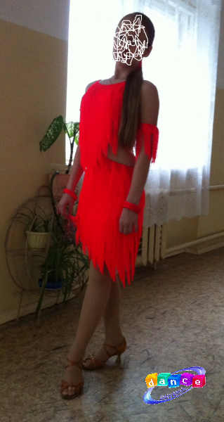 фото платье юниоры 1 латина