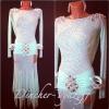 Эфектное латинское платье