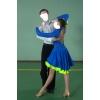 Стильное бальное платье  Латина р 155-162 см
