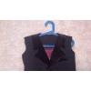 Рубашка белая и жилетка стандарт Юниоры-1