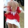 танцевальное платье латина