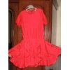 Яркое конкурсное платье кораллового цвета дети1, 2