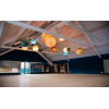 Зал для телесных и танцевальных тренингов.  Вкус&Цвет Yoga & practice