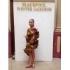 Незабываемая леопардовая платье ла