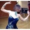 Шикарное бальное платье латина