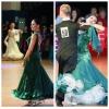Платье для европейской программы танцев