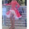 Платье стандарт,   латина