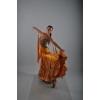 Продам платье для бальных танцев стандарт