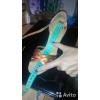 Коричневые туфли для бальных танцев.